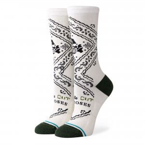 Stance Wmns Cut The Roses Crew Socks ( W545A20CUT-CRM )
