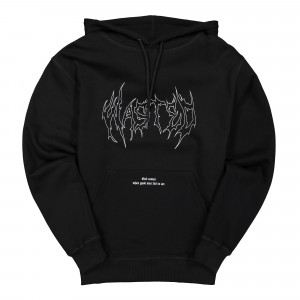 Wasted Paris War is Hell Hoodie ( Black )