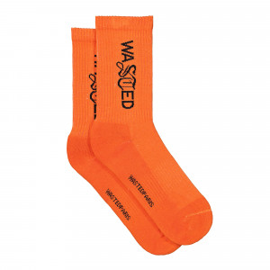Wasted Paris Signature Socks ( 135132 / Orange )