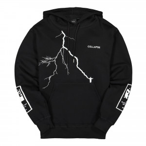 Wasted Paris Collapse Hoodie ( Black )