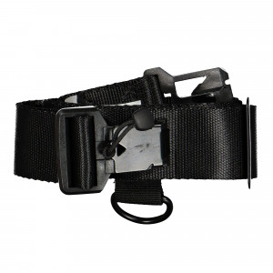 Wasted Paris Buckle Belt ( Black )