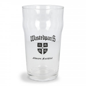 Wasted Paris Pint Glass Always Faithful ( Glass Transparent )