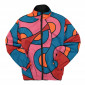 Parra Serpent Pattern Track Top ( 45240 / Multi )