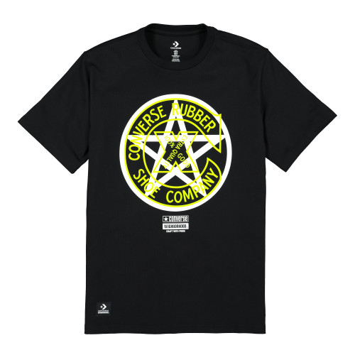 Neighborhood x Converse Tee ( 10018145-A01 / Black )