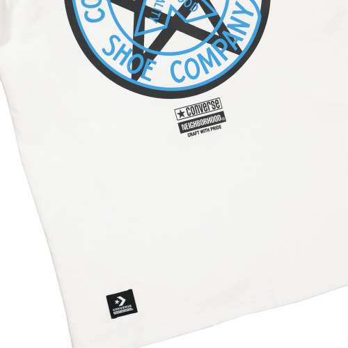 Neighborhood x Converse Tee ( 10018145-A02 / White )