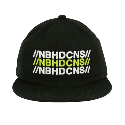 Neighborhood x Converse 6 Panel Hat ( 10018151-A01 / Black )