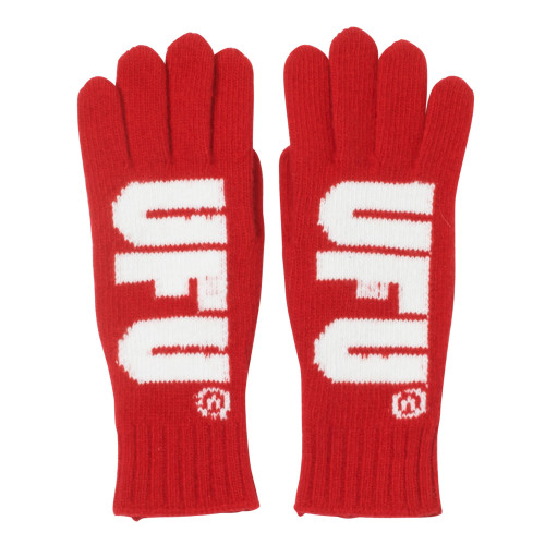Used Future UFU Gloves ( 15-A-GV-101 / Red