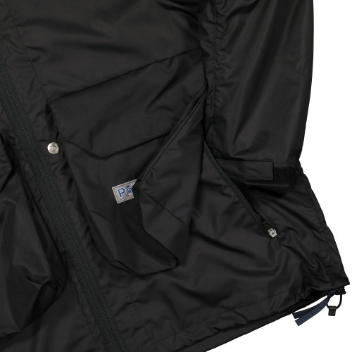 Poliquant Hooded Jacket ( 1901014 / Black )
