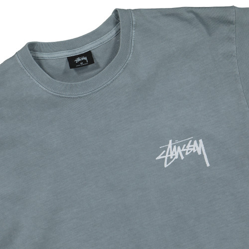 Stussy Daydream Pigment Dyed Tee ( 1904438 / 0007 / Slate )