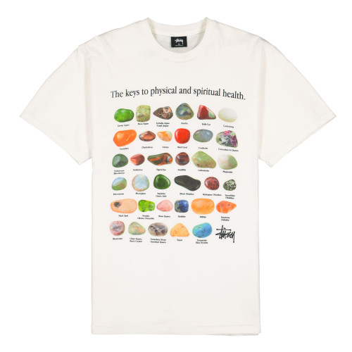Stussy Stones Pigment Dyed Tee ( 1904557 / 1002 / Natural )