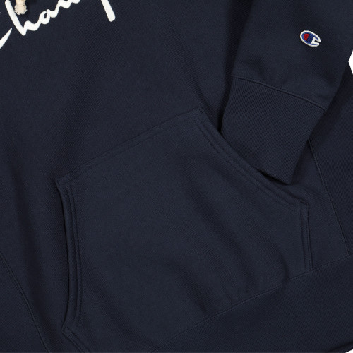 Champion Hooded Sweatshirt ( 215159-BS501 / Navy )