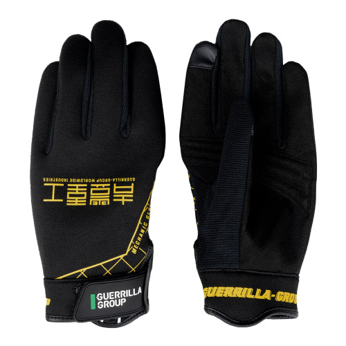 Guerrilla Group GG x ST-Line 3D Racing Gloves ( AG01-BL / Black )