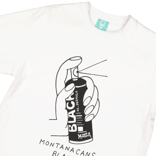 Montana Black T-Shirt by Lugosis