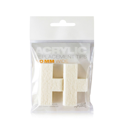 Montana Replacement Acrylic Tip Set 50 mm
