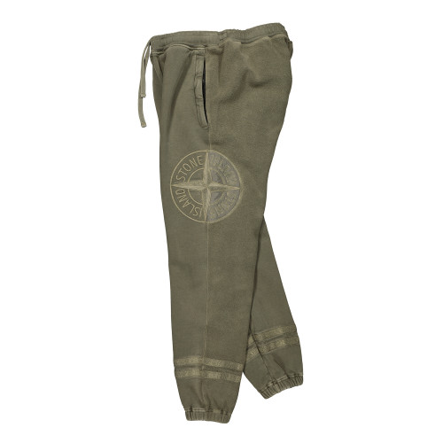 Stone Island Old Dye Treatment Fleece Pants ( 63547.V0158 / Olive )