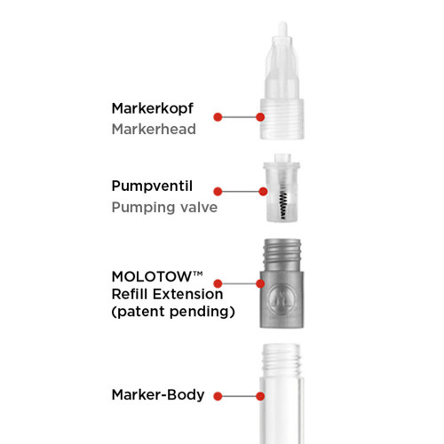 Molotow Marker Refill Extension A