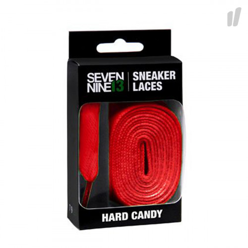 7/9/13 Hard Candy Laces Flat ( 7913HARD03 / Red )