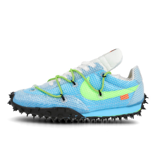 Off-White x Nike Wmns Waffle Racer ( CD8180 400 )