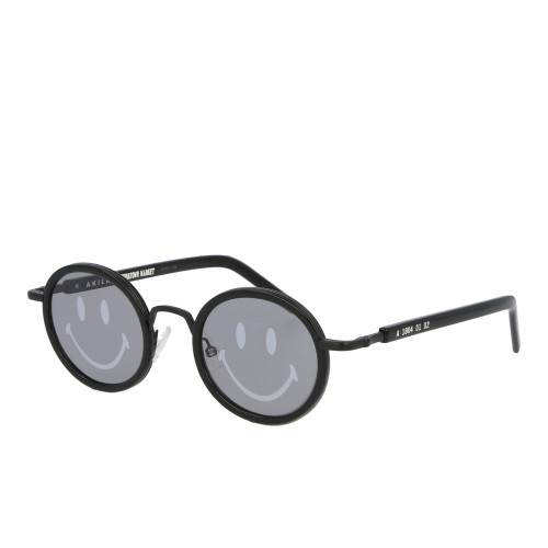 Akila x Chinatown Market Smiley Sunglasses ( CTMSP20-AKSGS / Black )