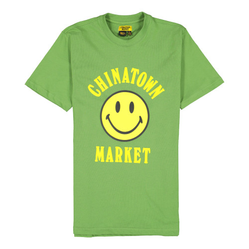 Chinatown Market Smiley T-Shirt ( CTSU19-SMSS / Olive )