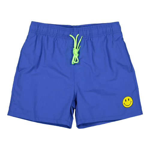Chinatown Market Smiley Swimming Trunks ( CTM-SST-PB / Powder Blue )