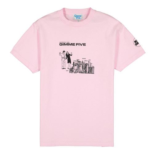 Gimme Five Boiled Shortsleeve Tee ( G500049 / Pink )