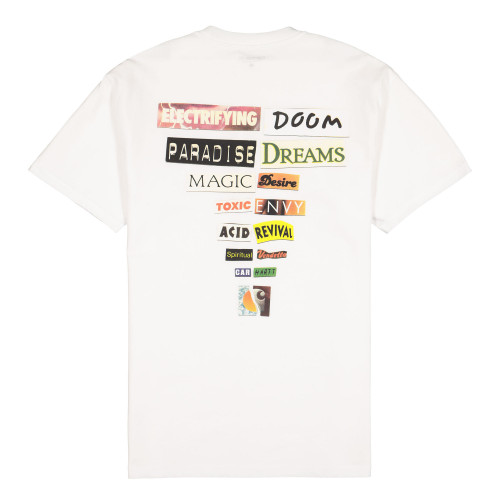 Carhartt WIP S/S Backpages T-Shirt ( I027757.02.00.03 / White )