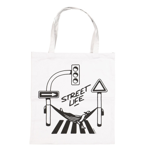 Montana Cotton Bag Street Life by Form 76 White