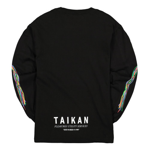 Pleasures Taikan Long Sleeve Shirt ( L19F101001 / Black )