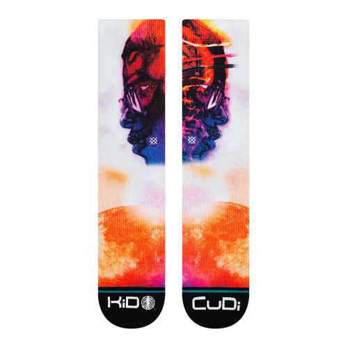 Stance Anthem Cudi Man on the Moon Socks ( M558C19CUM-WHT )