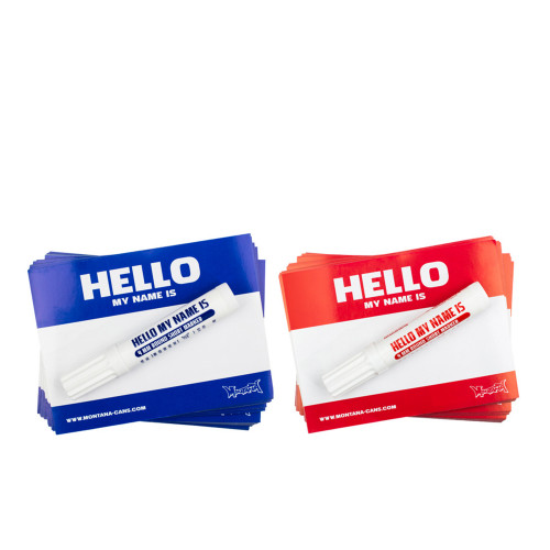 Montana HELLO MY NAME IS... Sticker Pack