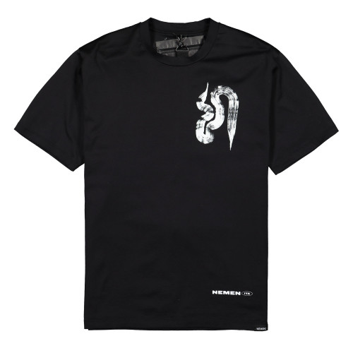 NemeN Domenico Romeo Artwork T-Shirt ( NMN_E20127T_111 / Ink Black )