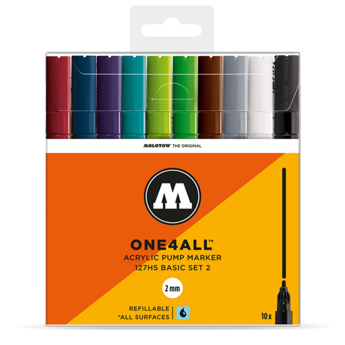 Molotow ONE4ALL 127HS Basic 10 Set 2