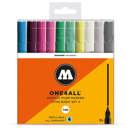 Molotow ONE4ALL 127HS Basic 10 Set 3