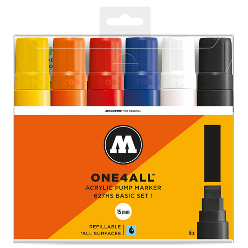 Molotow ONE4ALL 627HS Basic-Set 1