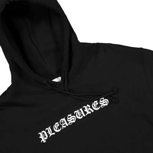 Pleasures Now Black Metal Hoody ( P19S102018 )