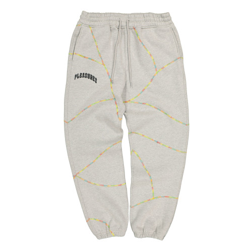 Pleasures Destroyer Contrast Stitch Sweatpant ( P19W104018 / Grey )