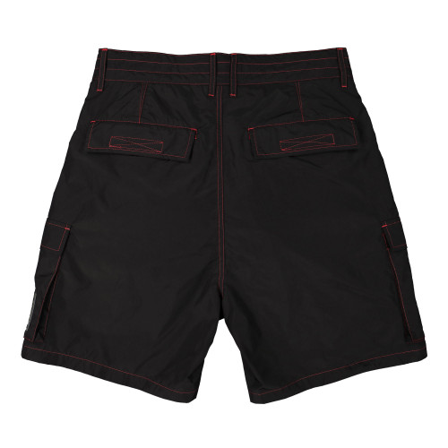 Pleasures Static Nylon Cargo Shorts ( P20SU010 / Black )