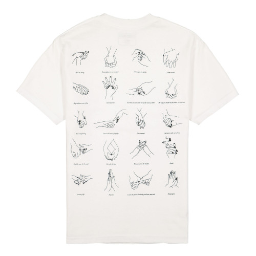 Pleasures Touch T-Shirt ( P20SU039 / White )