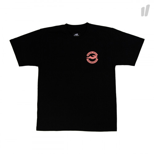 Pacemaker Never Rest Tee ( Black / Salmon )