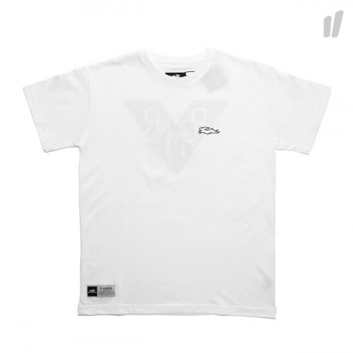Pacemaker Rabbit Logo PCMKR Tee ( White / Black )