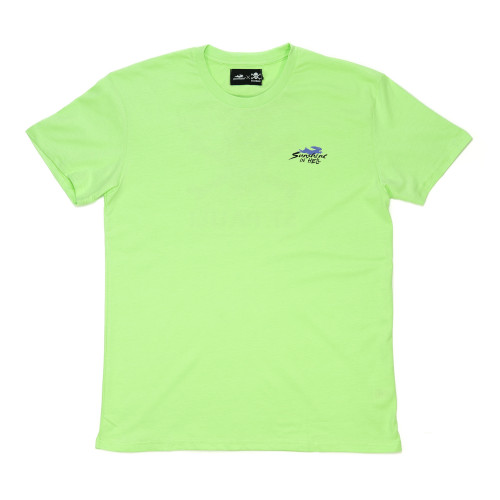 FC Sankt Pauli x Pacemaker Sunshine in Hell Tee ( PMSTH2 / Lime )