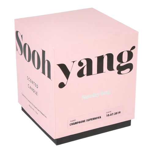 Soohyang Scented Candle 200g ( SSC / Champagne Supernova )