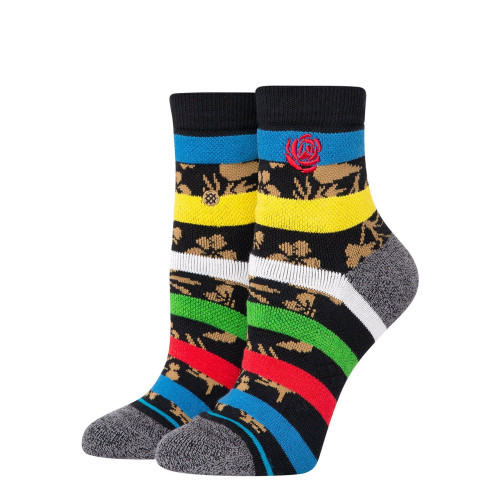Stance Wmns Petal Power QTR Socks ( W326B20PET-BLK )