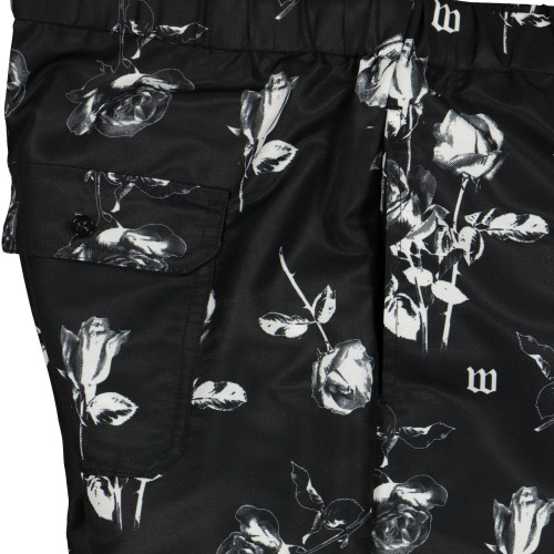 Wasted Paris Allover Charming Short ( Black )