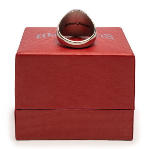 Wasted Paris Signet Ring Always Faithful ( Silver )
