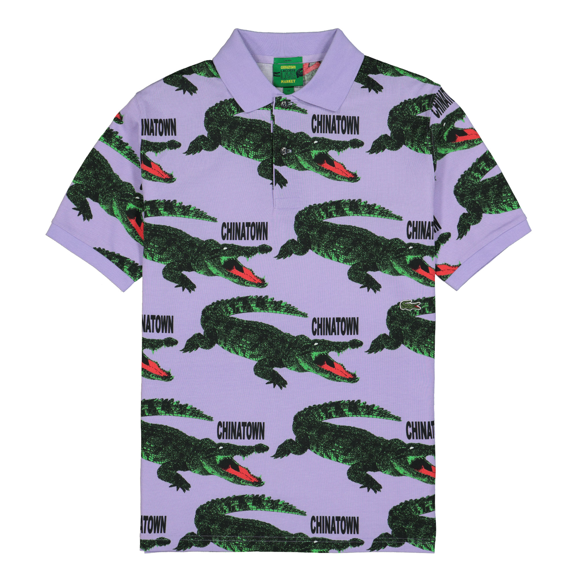 Chinatown Market X Lacoste Polo Shirt Ph0116 00 J7z Overkill Berlin Sneaker Wear Graffiti