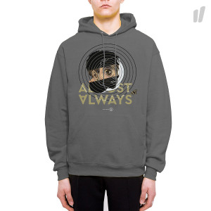 Almost Always Big Eyes Hoodie ( 011 / Grey )
