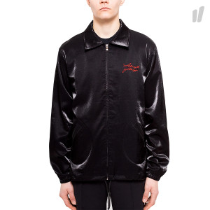 Almost Always Satin Butterfly Coach Jacket ( 013 / Black )