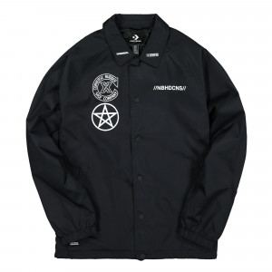 Neighborhood x Converse Coaches Jacket ( 10018147-A01 / Black )